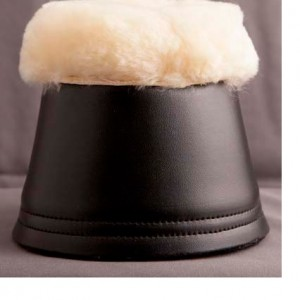 Zaldi Sheepskin Topped Over-reach Boots