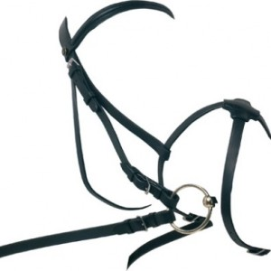 Zaldi Snaffle Bridle with Mexican Noseband