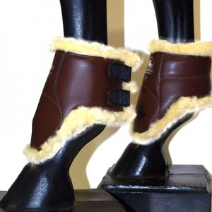 Grand Prix Sheepskin-Lined Ankle Boot