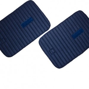 Tricot Leg Pads with velcro