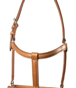 Zaldi Double Leather Halter