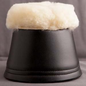 Zaldi Sheepskin rimmed over reach boots